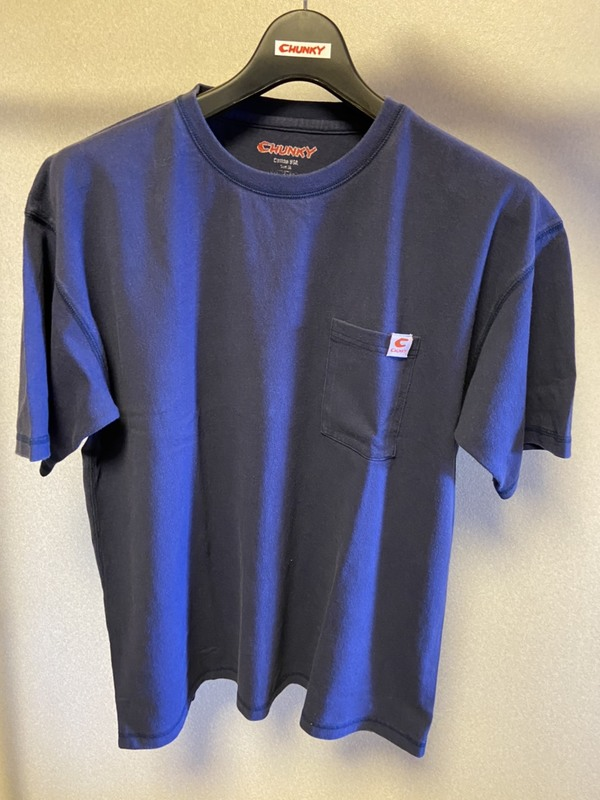 オリジナルブランドChunky Cotton USA Open End Spinning T-shirst